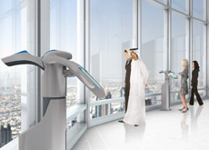 ON TOUR: An artist's impression of the observatory deck at Burj Dubai.