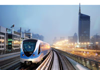 Set to change the skyline of Dubai, the Metro launches its services this month