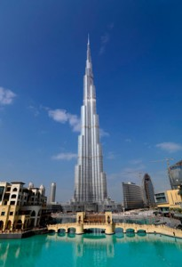 The Burj Khalifa will boost prices in the Downtown development