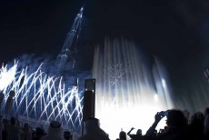 Groupe F conceived and implemented the fireworks display for the Burj Khalifa launch.