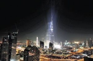 The opening of Burj Khalifa has made the area an even bigger destination than before. (EB FILE)