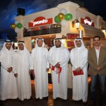 Enoc's management team at the launch of Pronto store at The Dubai Mall.