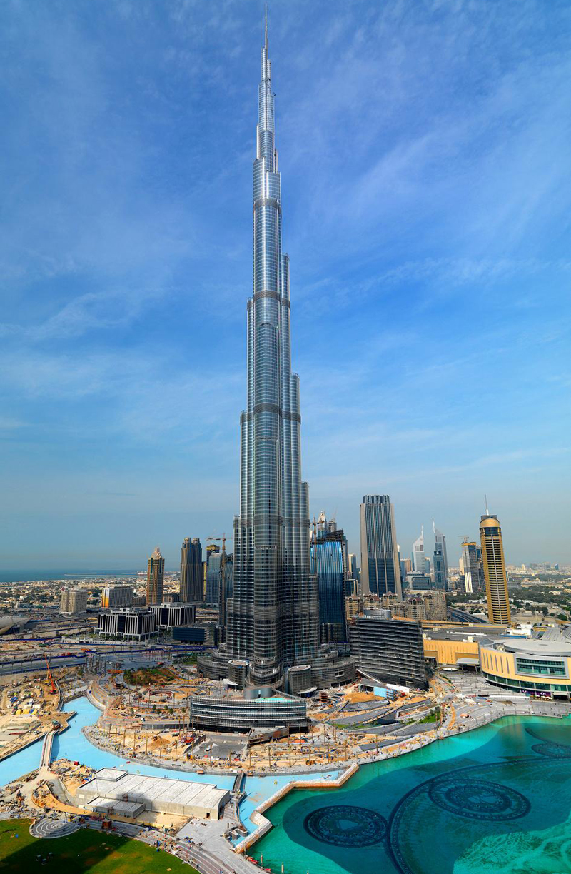 Burj Dubai Is Finished But At What Environmental Value