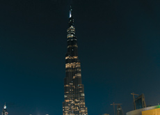 The construction of the Burj Khalifa was led by South Korea's Samsung.