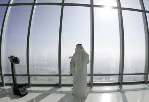 *  'At the Top' is located on the 124th floor of the Burj Khalifa.     * Image Credit: Hadrian Hernandez/Gulf News