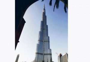 *  Burj Khalifa is yet to be certified as the world's tallest tower     * Image Credit: Xpress /Pankaj Sharma