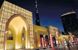 The Dubai Mall offers a wide choice of exclusive designer outlets. (SUPPLIED)