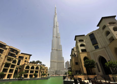 DELAYED: The opening of the Armani Hotel, in the Burj Khalifa, has been put back to April 22.