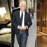 Interiors from the new Giorgio Armani Hotel in Dubai Photo: REX FEATURES