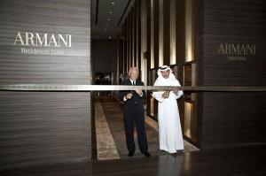 First Armani Hotel Opens in Dubai's Burj Khalifa