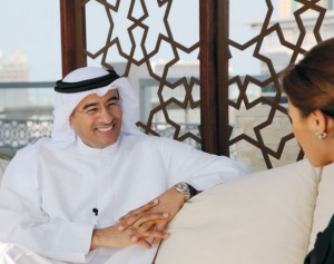 Alabbar says that In India, the company's joint venture Emaar-MGF is on course with its planned IPO of $761 million.