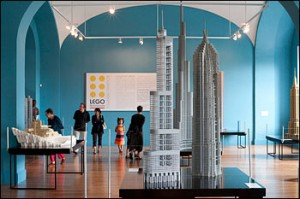 Adam Reed Tucker's models of skyscrapers reveal the still-potent power of the simplest Lego elements.