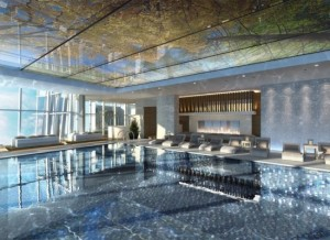 The Ritz-Carlton Hong Kong pool will be located on the top floor: 118
