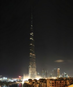 Emaar's Burj Khalifa in Dubai, UAE