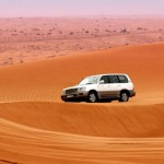 A desert safari in the gulf Photograph: Alamy