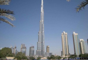 Around a quarter of the properties in the Burj Khalifa have been sold.