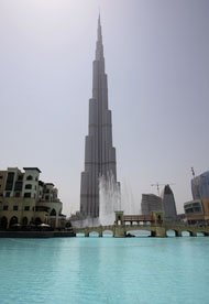 Reuters The Burj Khalifa, the world's tallest building, in Dubai.