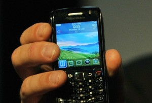 PARTY CANCELLED: BlackBerry has cancelled plans for a party at Armani Hotel in Dubai to launch their new smartphone. (Getty Images)
