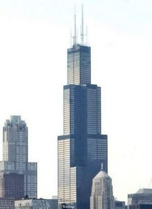 The 110 story Sears Tower is the tallest building in North America. Tannen Maury / Bloomberg News