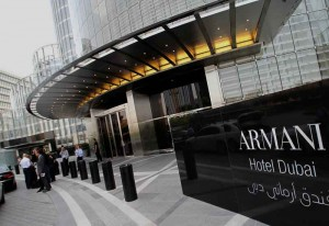 The Armani hotel was one of many to take advantage of Middle East's economic boom.