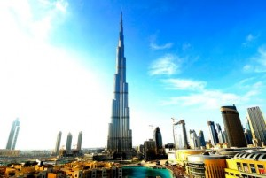 The 2010 outlook excludes the impact of a claim relating to Burj Khalifa, the world's tallest tower in Dubai. (Getty Images)