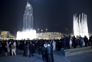 The Armani Hotel Dubai launch party