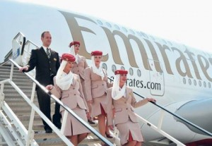 * Emirates' expanding A380 fleet is generating interest from airports across the world. A further order for 32 A380s, announced during the Berlin Air Show, has prompted a flurry of enquiries. * Image Credit: Supplied picture
