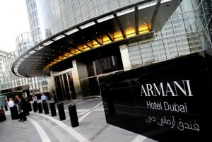 The Armani Hotel Dubai opened its doors with a star-studded ceremony on April 27, 2010