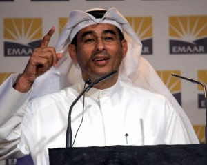 Mohamed Alabbar, chairman, Emaar Properties.