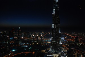 Burj Khalifa night