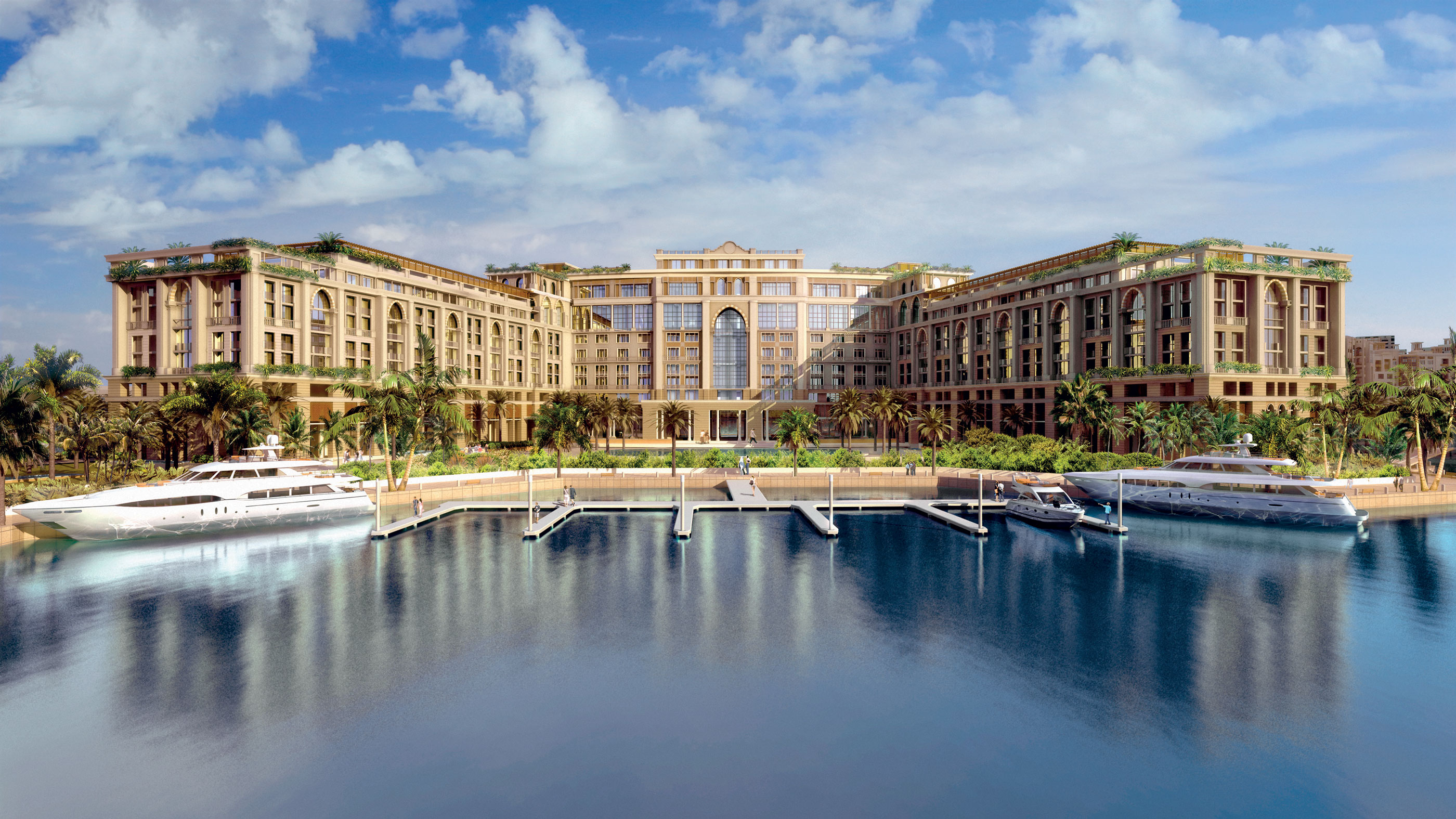 Luxury hotel palazzo versace dubai says 80 of apartments for Best hotels in dubai