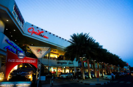 Palm Strip Shopping Mall is offering shoppers raffle coupons for a chance to win Nissan cars every day.