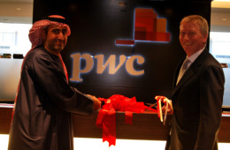 Senior Advisor to PwC Hamed Kazim (Left), and Chairman and Senior Partner of PwC's UK firm, Leader of PwC's Central Cluster Ian Powell (Right).