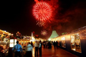 Head down to Al Seef Street to watch the fireworks every evening during the DSF (FILE)