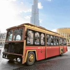 * The buses are envisaged as a vital link for tourists in the hotels of Downtown Dubai. * Image Credit: Supplied