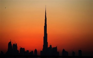 WS Atkins worked on the Burj Khalifa tower in Dubai (pictured), the tallest building in the world. Photo: AFP/GETTY IMAGES