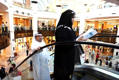 Dubai Mall posted the largest rise in traffic with a massive 47m visitors in 2010