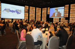 Hills Advertising celebrates its 10th anniversary at the Armani Hotel, Burj Khalifa - Dubai.