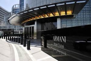 The Armani Hotel, Dubai. Image courtesy of Neccel