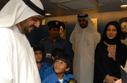 Part of inaugurating Dubai Customs¡¯ establishment at KidZania