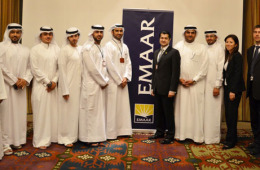Group photo during UAE Career Fair.