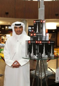 Burj Khalifa LEGO model launch.