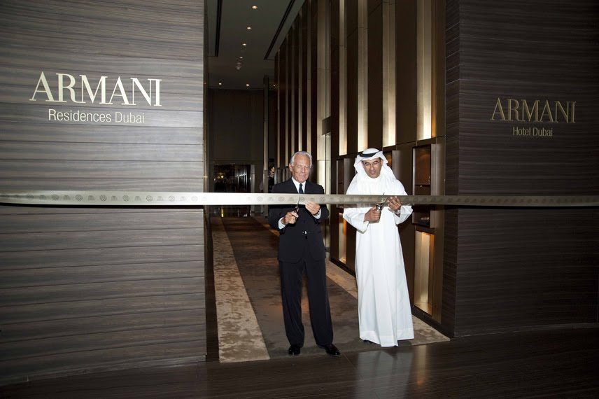 Armani group profit rises 80 in 2010 burj khalifa tickets for Armani burj khalifa