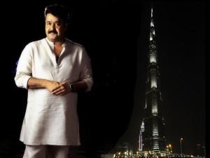 Mohanlal. Burj Khalifa