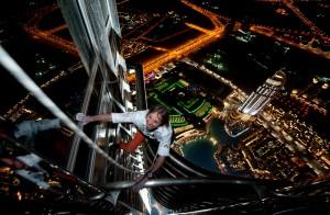 Alain Robert. Burj Khalifa