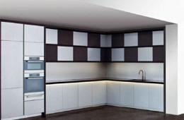 Armani/Dada Checkers Kitchen.