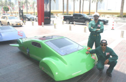 Epic Dubai - Green Car Caravan.