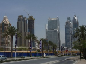 Dubai's skyline is growing all the time. Some popular areas didn't exist five years ago. (JESSE MICHAELS/QMI AGENCY)