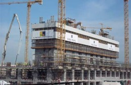 3.5 million man hours worked, with 60,000 cubic meter of concrete poured on the 20 million sq ft Dubai Pearl project.