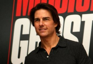 *  Image Credit: Megan Hirons Mahon/Gulf News     * 'Mission: Impossible Ghost Protocol' was shot in Dubai last year and featured Tom Cruise performing his own stunts on the Burj Khalifa, the world's tallest building.